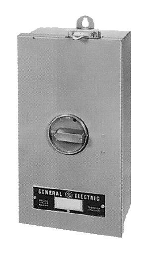 GE Industrial Solutions TE100J 100 Amp NEMA 12/12K Circuit Breaker Enclosure