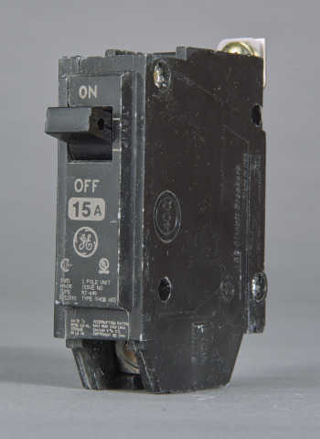 GE Industrial Solutions THQB1145 1-Pole 120/240 Volt 10 kaic 45 Amp Circuit Breaker